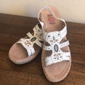 Gelron Earth Spirit leather sandals